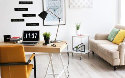 pokój dzienny w małym mieszkaniu