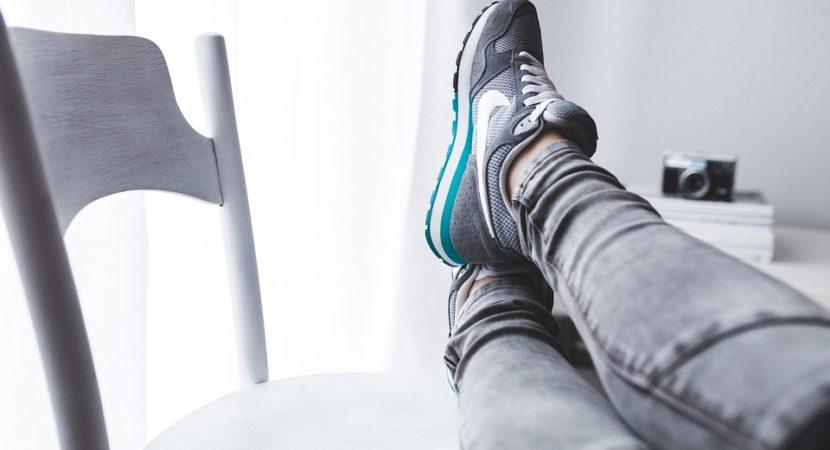 Buty sportowe poprawiające wygląd