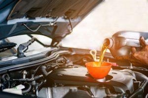Sklep z olejami silnikowymi